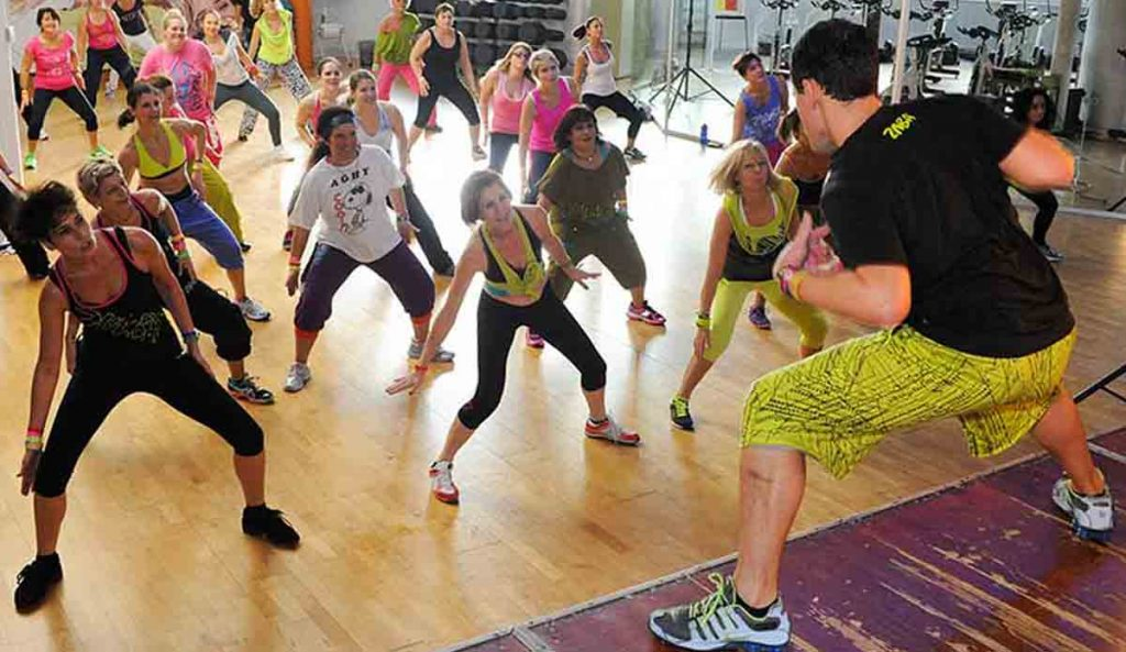 Zumba is a great way to socialize