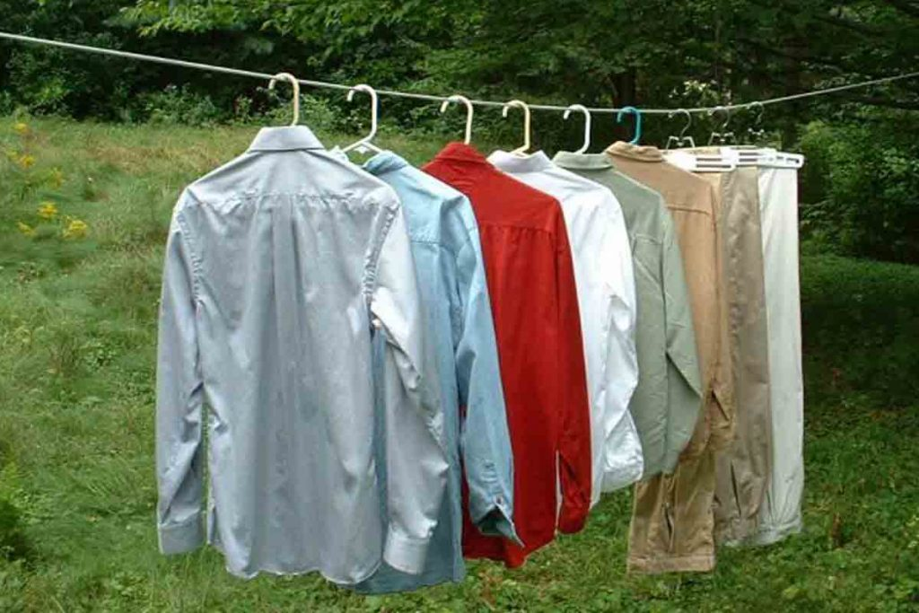 how to dry up your expensive clothes