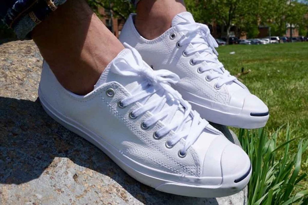 men's summer white sneakers