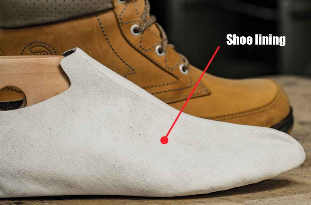 why summer shoes don't have shoe lining