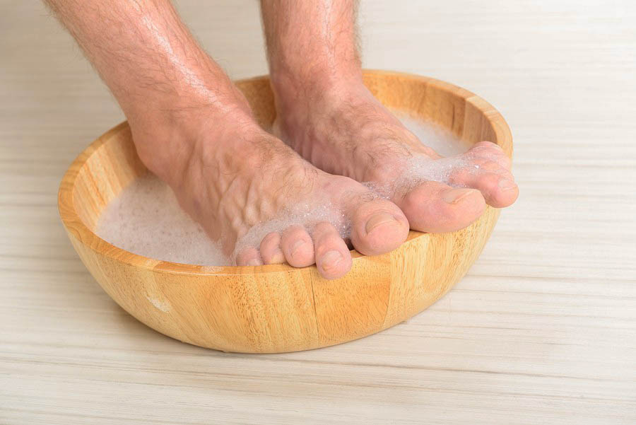 why men should take care of his feet