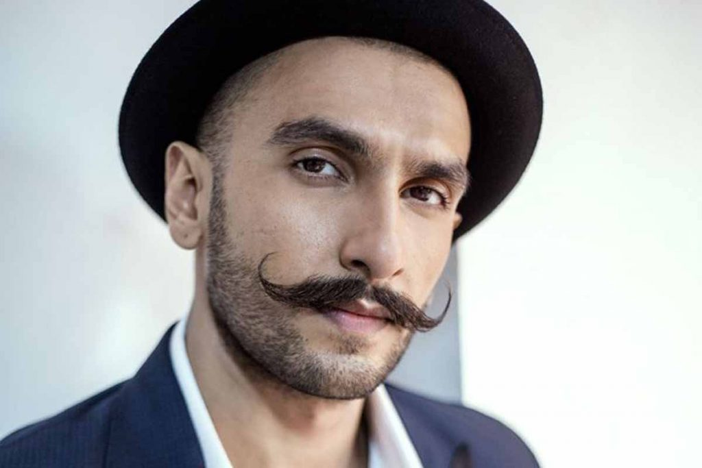 Indian Men Trendy Handlebar Mustache