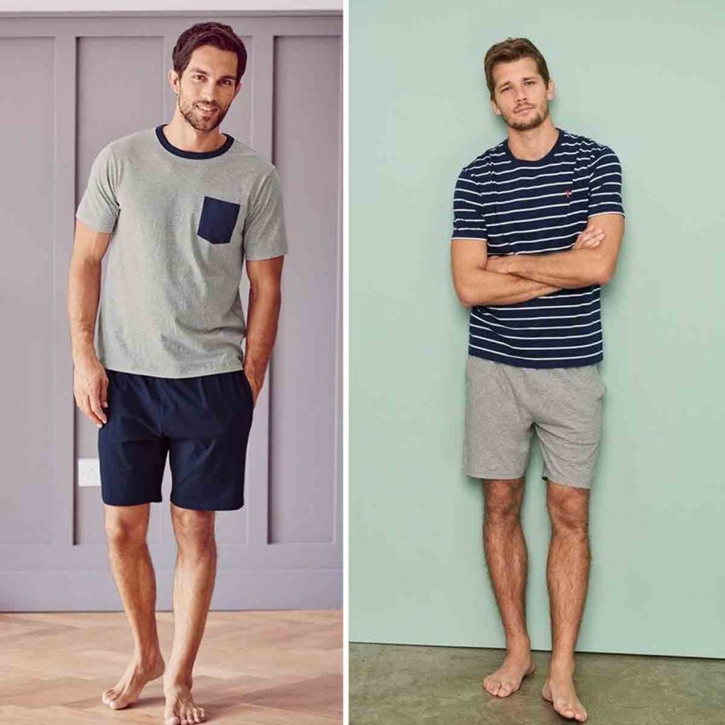 Indian men loungewear Shorts With T-shirts