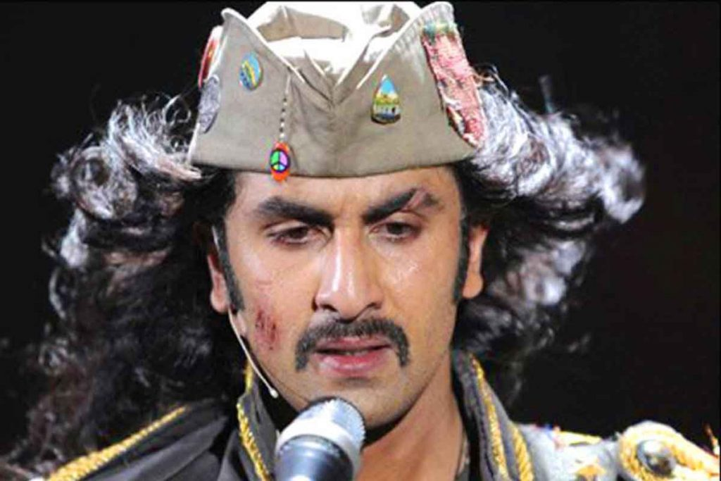 Ranbir Kapoor Horseshoe Mustache In Rockstar Movie