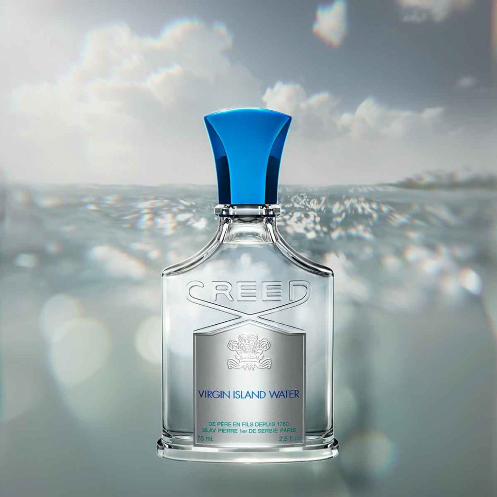 best summer perfume The Creed Island Water for men