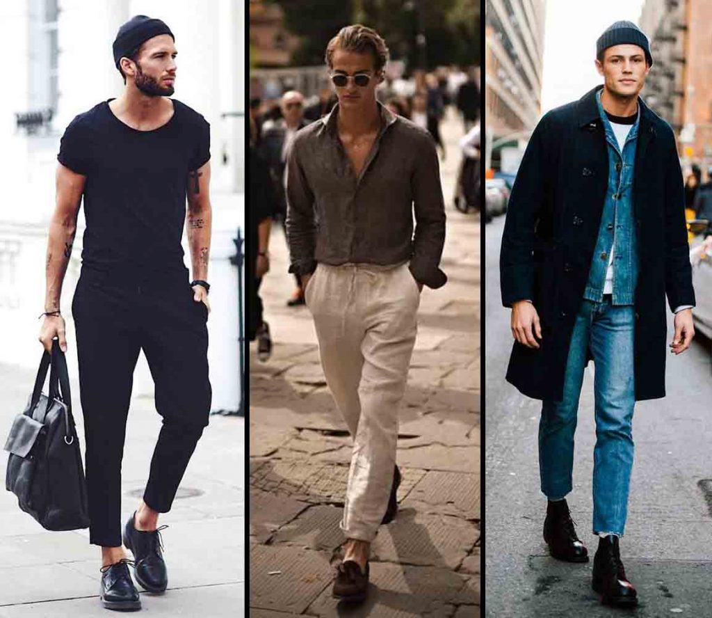 Who all can wear ankle length trousers