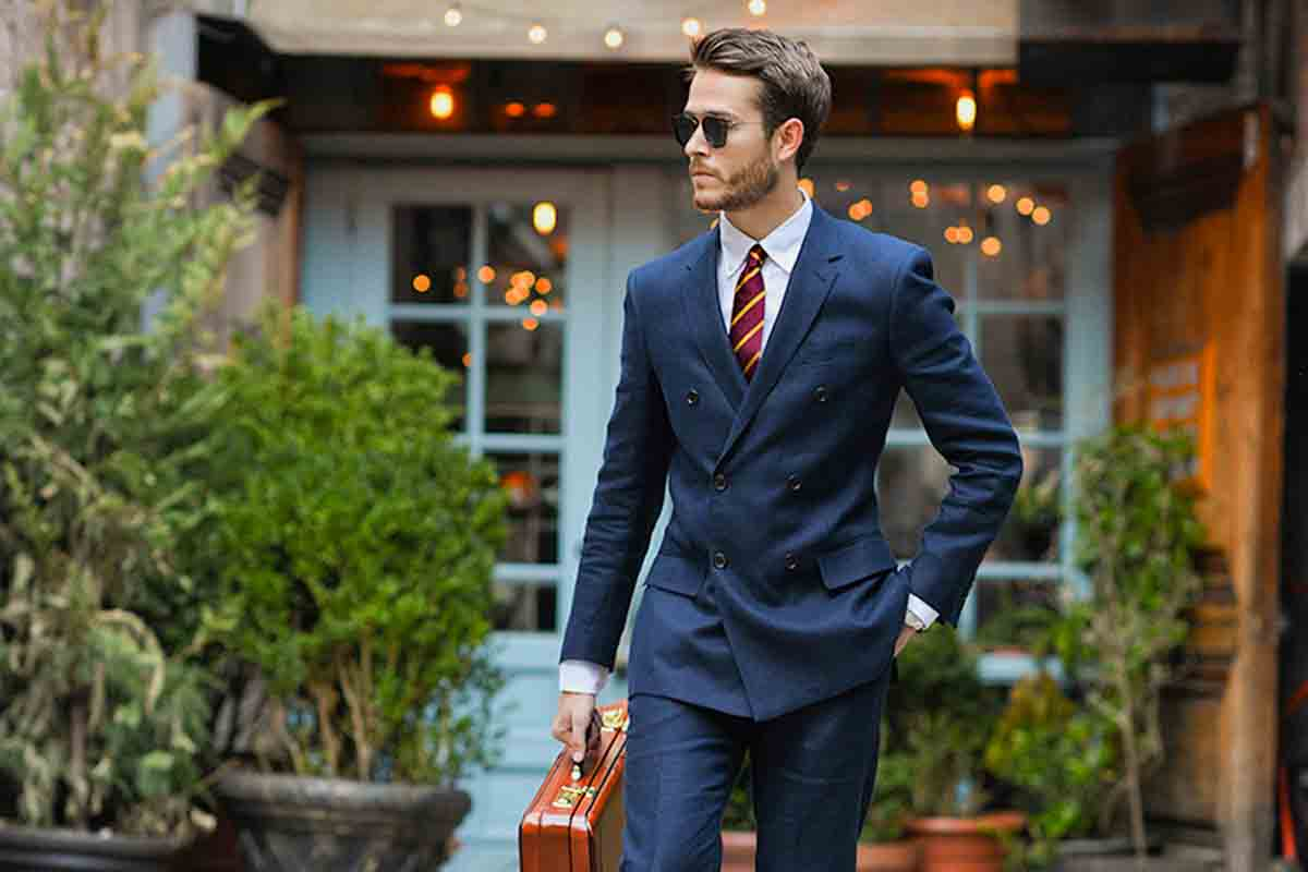 basic rules of wearing men's suits