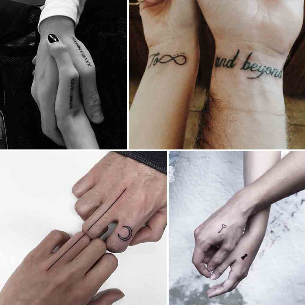 best placement ideas for couple tattoos