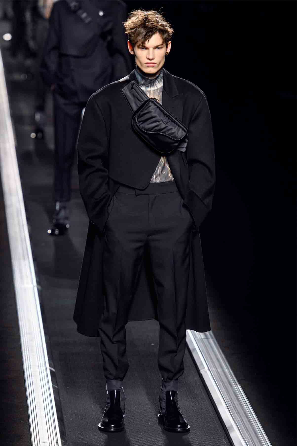 how to pose like a male runway model on the ramp