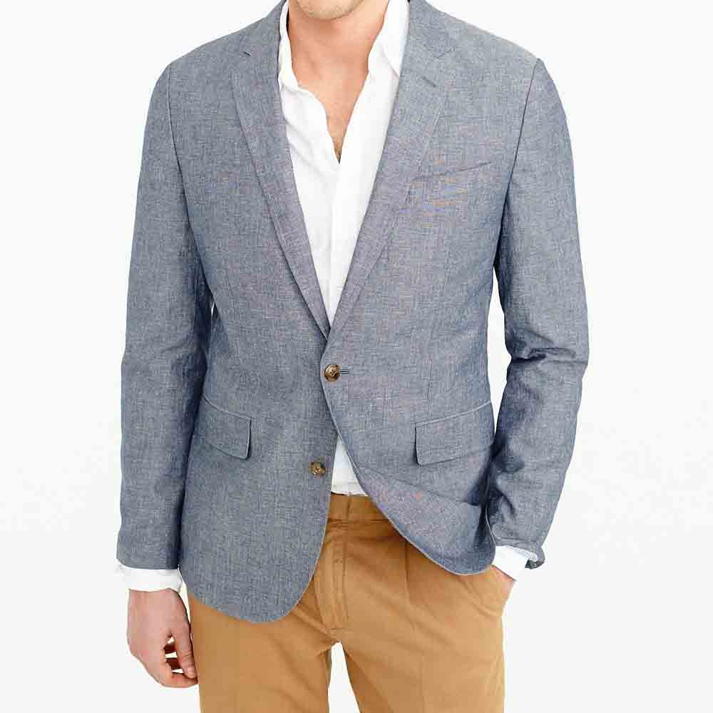 men's unstructured suit