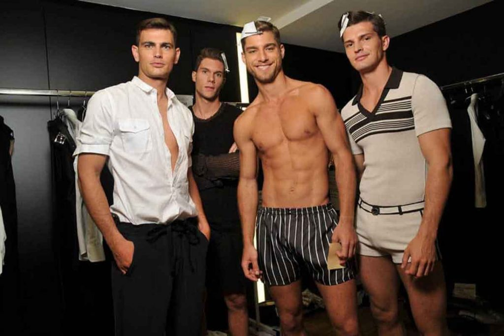 what are the types of male modeling