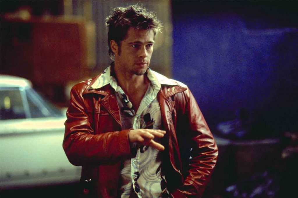 Brad Pitt's Hairstyle In Fight Club