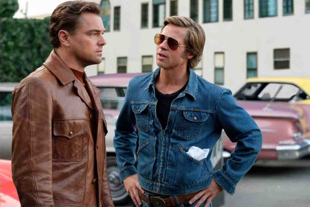 Brad Pitt's Hairstyle In Once Upon A Time In Hollywood