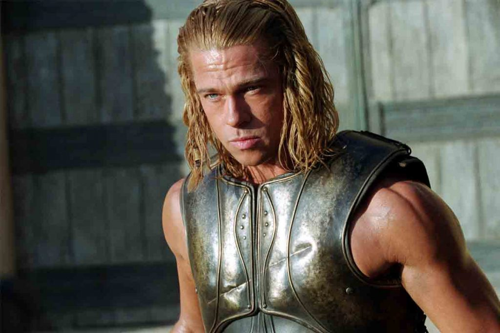 Brad Pitt's Hairstyle In Troy
