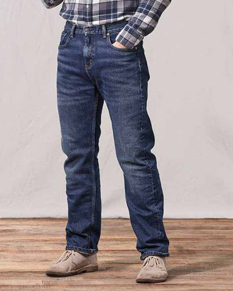 Regular Fit Jeans For Men With Big Bottom