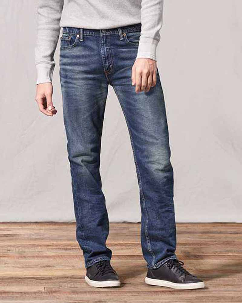 Slim Straight Fit For Men with Heavy legs