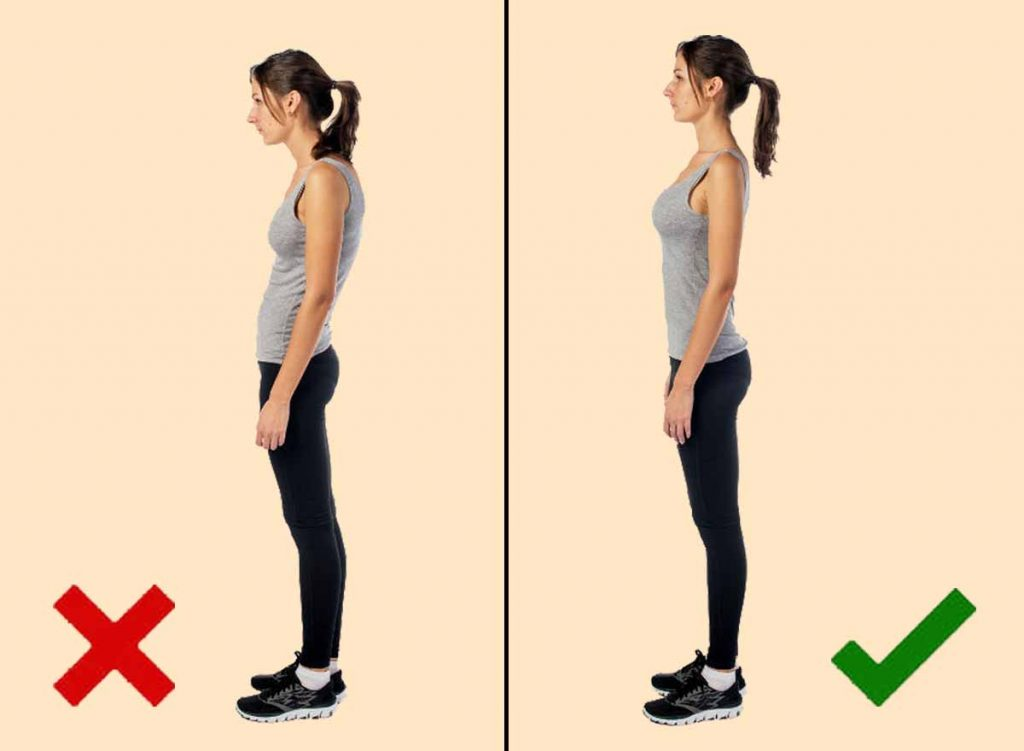 men don't like women with poor body posture