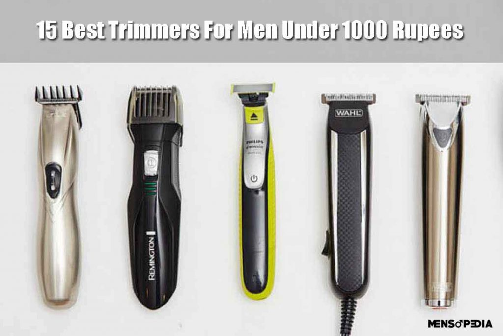 Best Trimmers For Men Under 1000 Rupees In India 2020