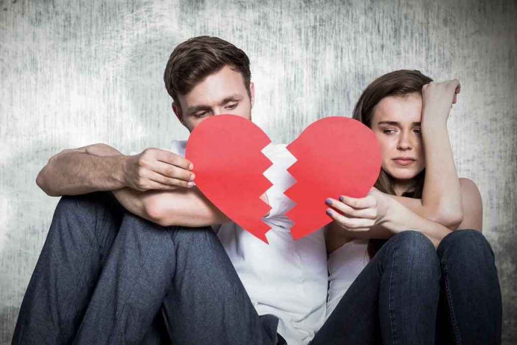 5 Common Reasons Why Couples Break Up