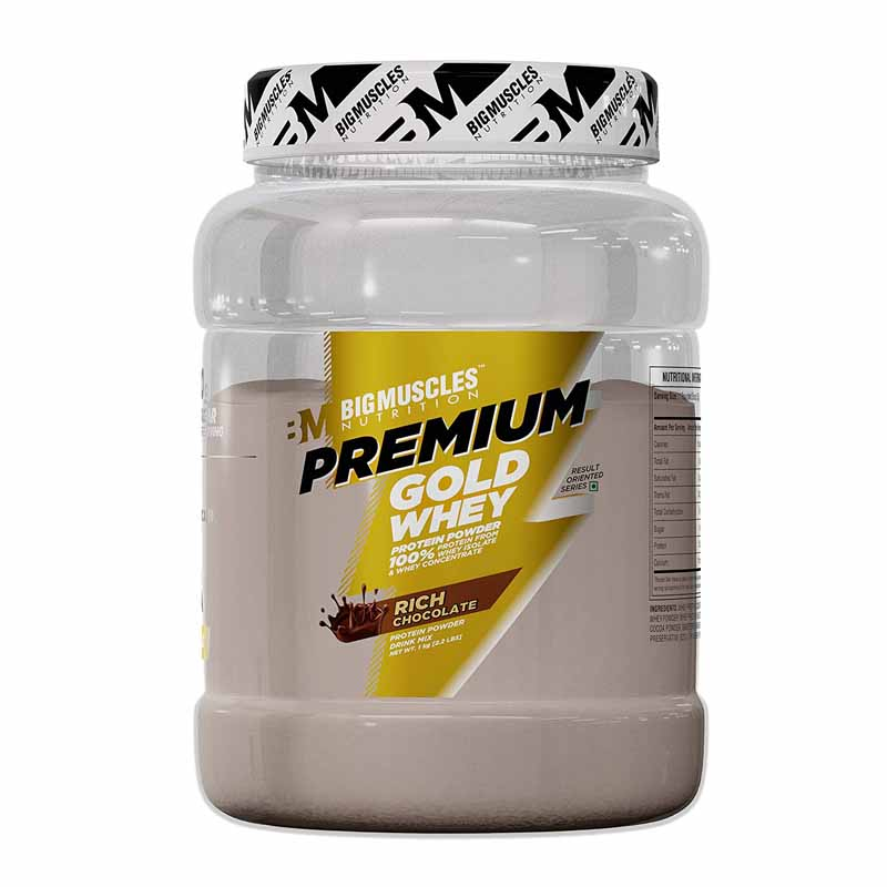 Best whey protein for men - Big Muscle Nutrition Premium Gold Whey