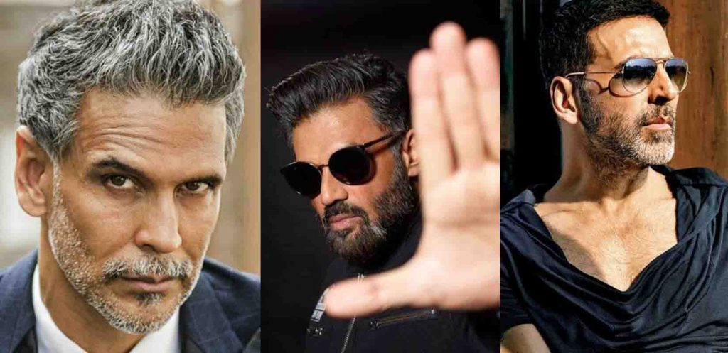 Bollywood Actors Salt And Pepper Beard Style