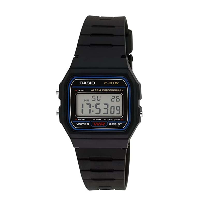 Casio Youth-Digital Black Small Dial Men's Watch
