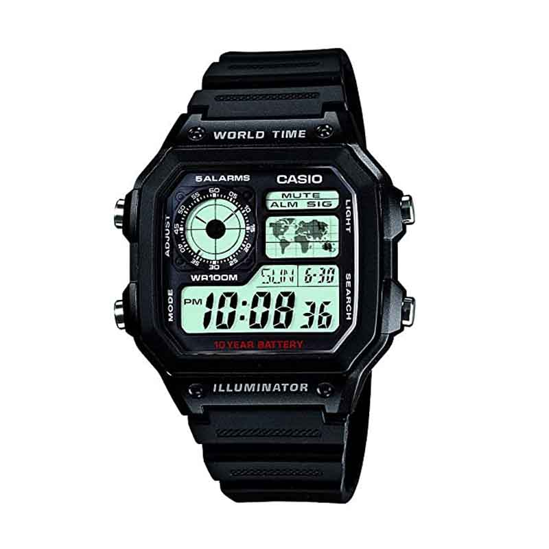 Casio Youth Grey Dial Men's Watch