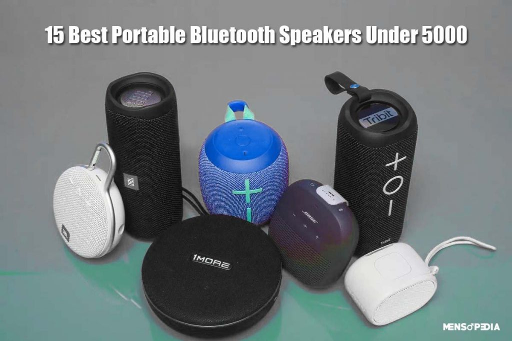 15 Best Portable Bluetooth Speakers Under 5000 In India 2020