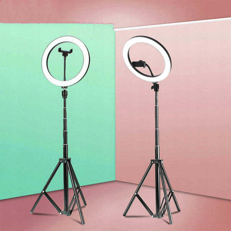 SHYLOC 18 Inches LED Ring Light for Video Content Creators