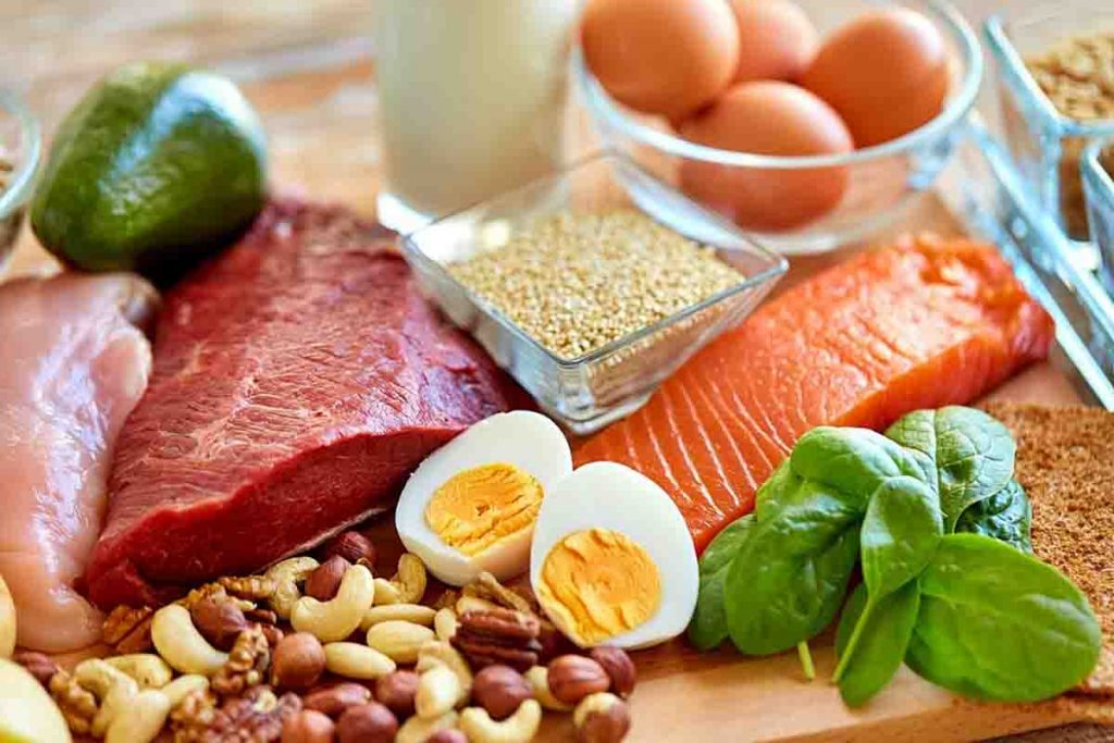 protein rich diet is good to boost male hormone levels