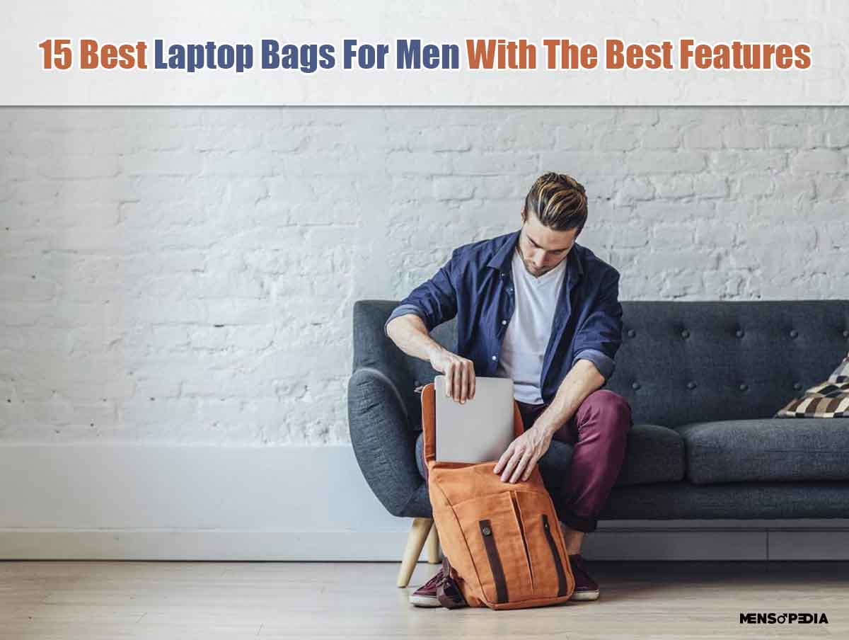 15 Best Laptop Bags For Men With Best Features In India
