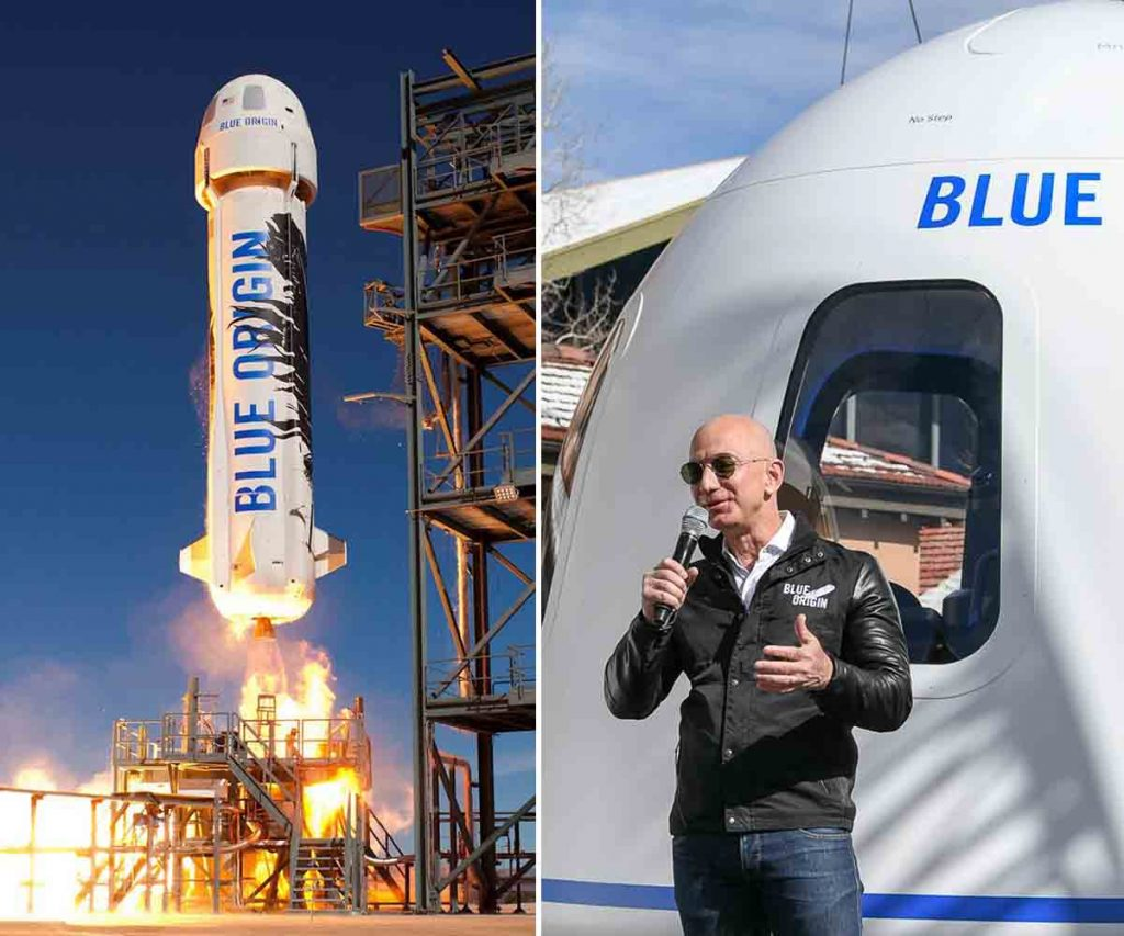 5 Ridiculously Expensive Things That Jeff Bezos Owns - Blue Origin