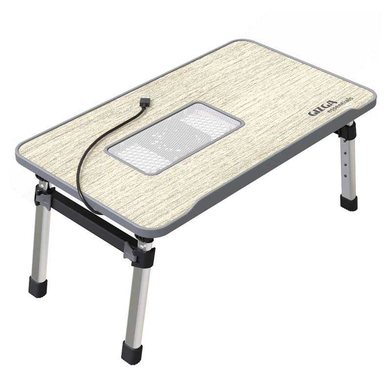 Gizga Smart Multi-Purpose Laptop Table With USB-Cooling-Pad