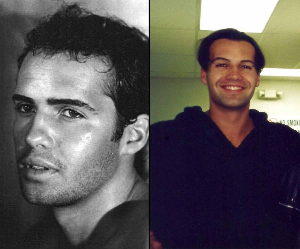 How Billy Zane used to look with hair