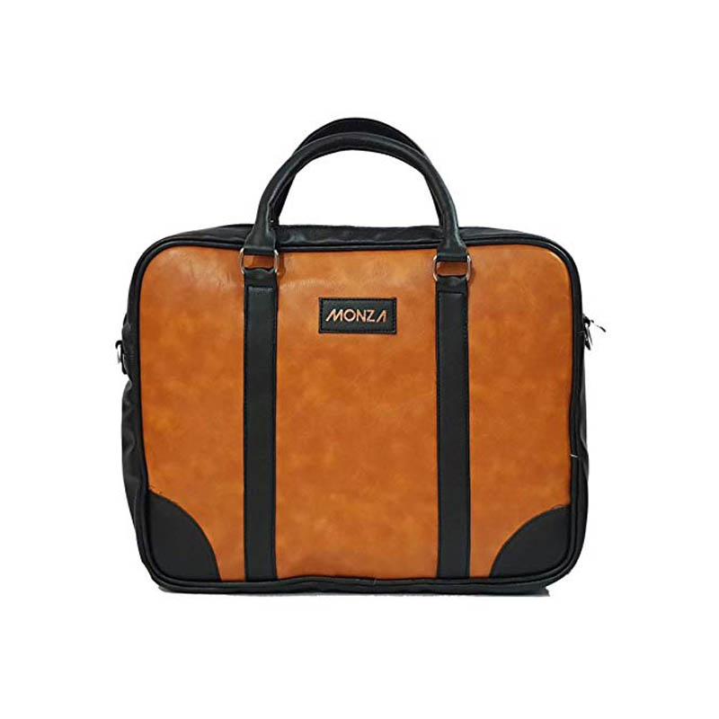 Monza Italy Formal Office Messenger Briefcase Laptop Bag