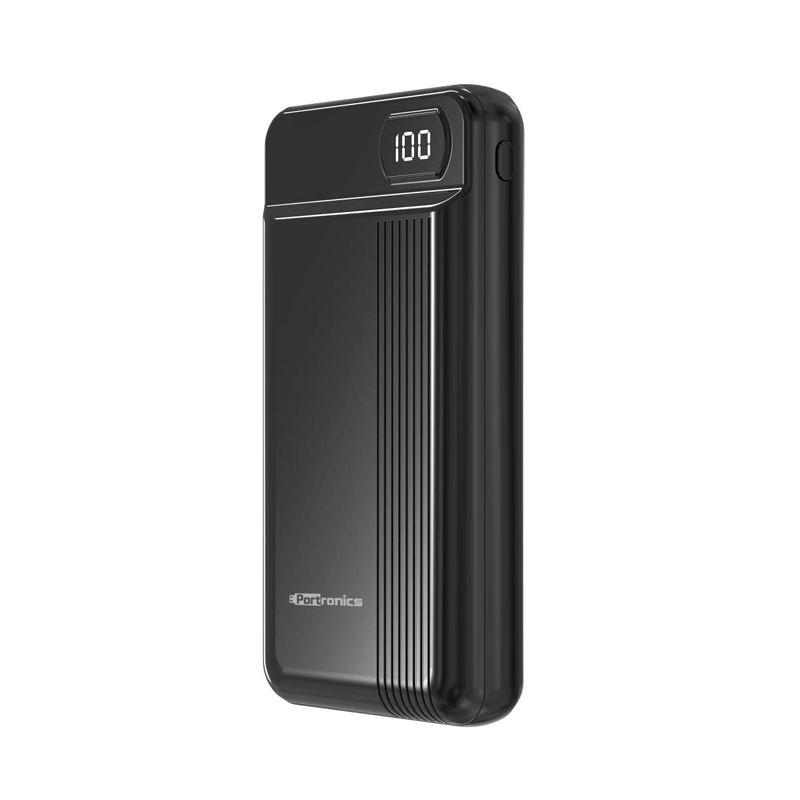 Portronics Indo 20D 20000mAH Power Bank With LED Display