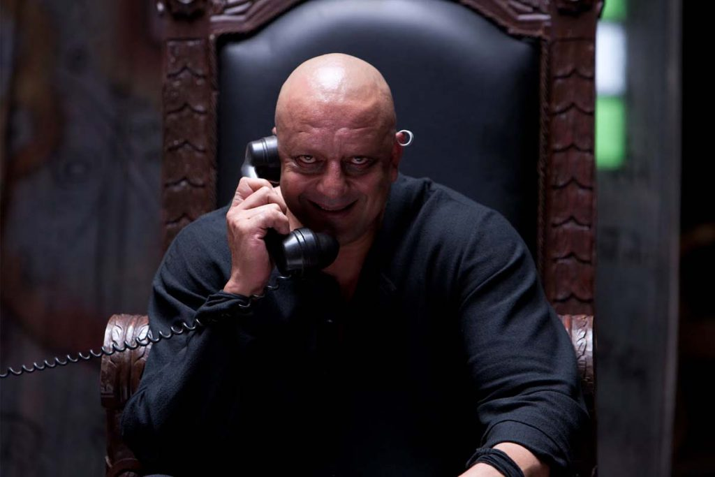 Sanjay Dutt went bald in real life for the movie Agneepath