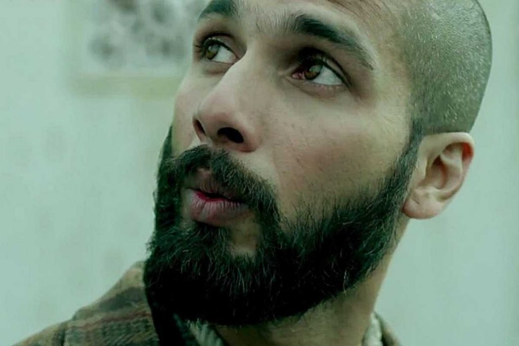 Shahid kapoor went bald in real life for the movie Haider