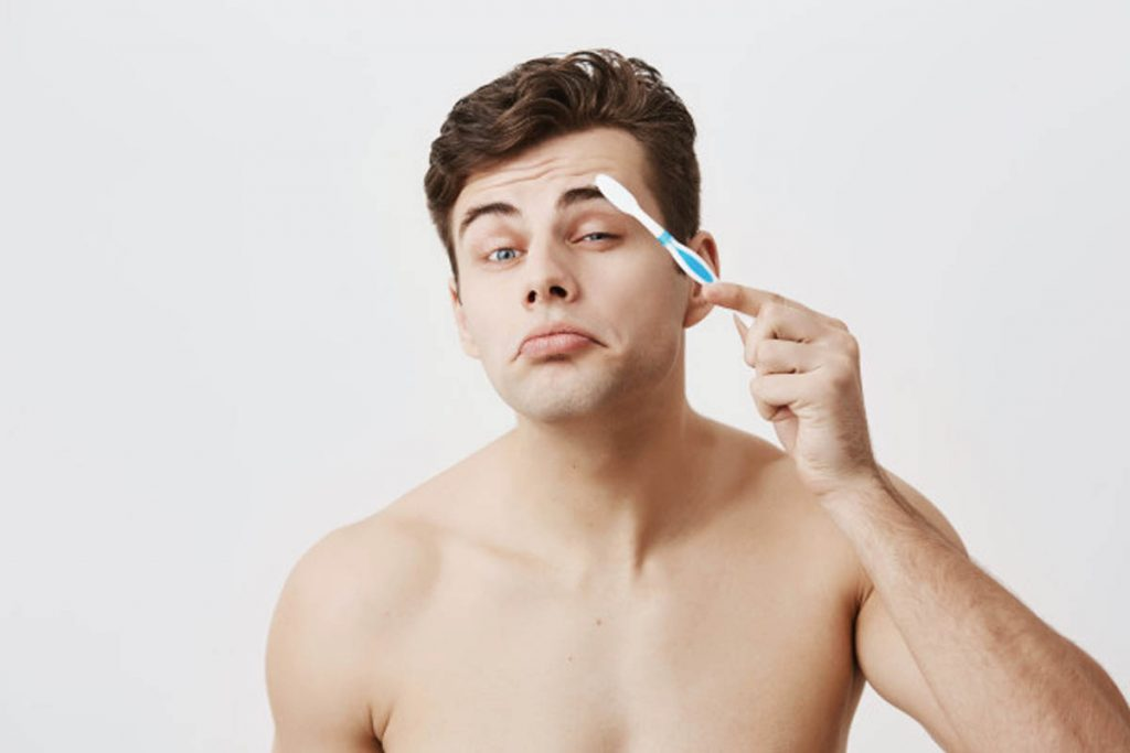 Simple Ways To Groom Thick Eyebrows At Home For Men