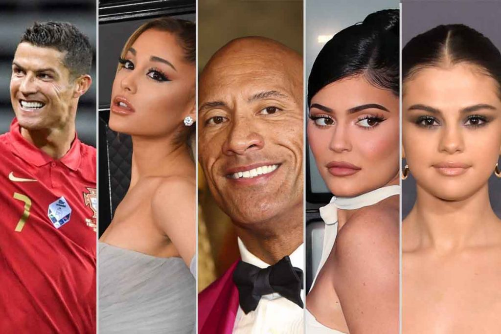 Top 20 Highest Earning Celebrities On Instagram