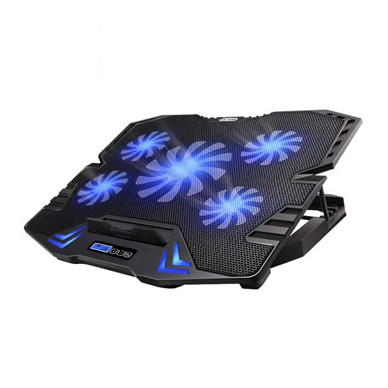 TopMate 5 Fans LCD Screen Gaming Laptop Cooler