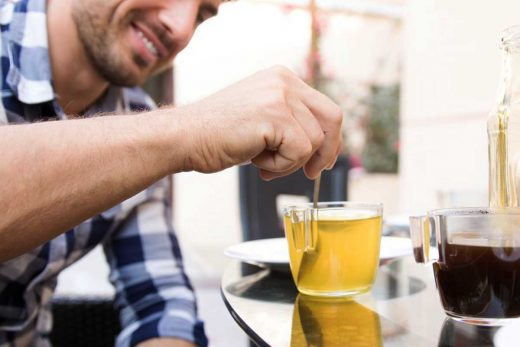 5 Benefits Of Drinking Green Tea On Men's Skin