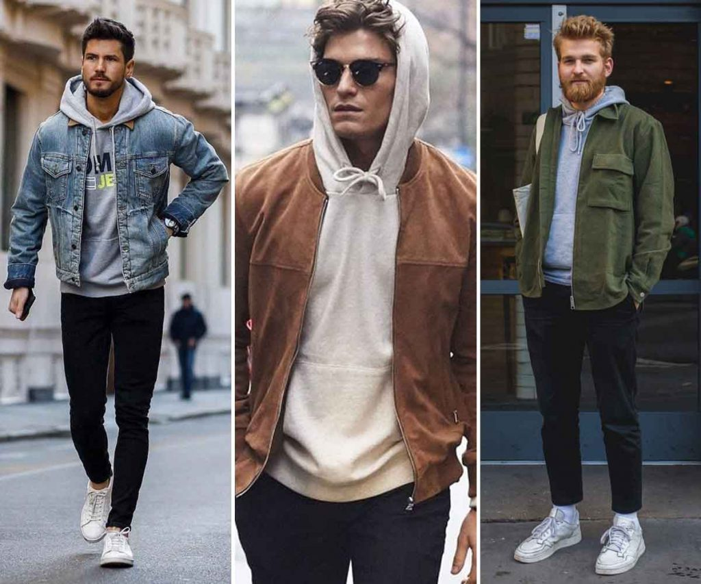 Best 5 Athleisure Fashion Trends For Men - Hooded Sweatshirt, Sweatpants And Jacket