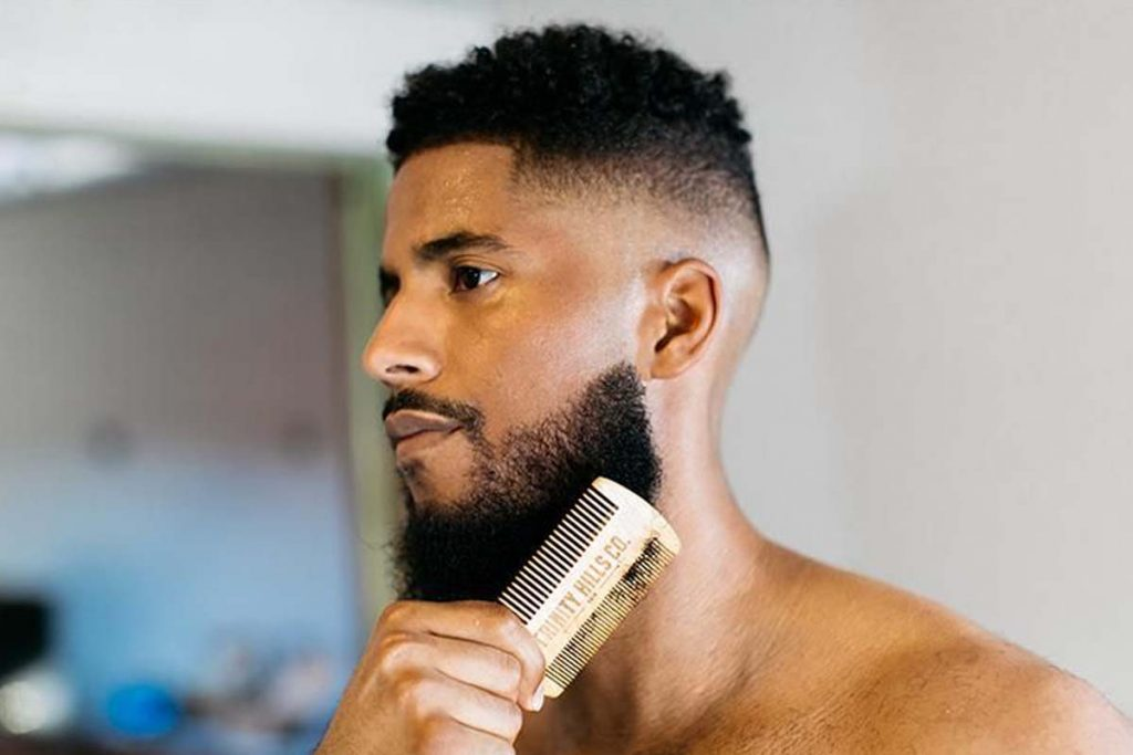 Comb Beard Daily To Get Rid Of Beard Pimple