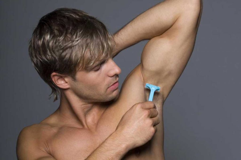 Does shaving underarm hair makes it coarse for men