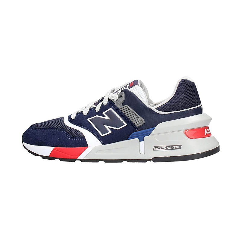 New Balance Men's 997 Sport Navy Or White Running Shoes