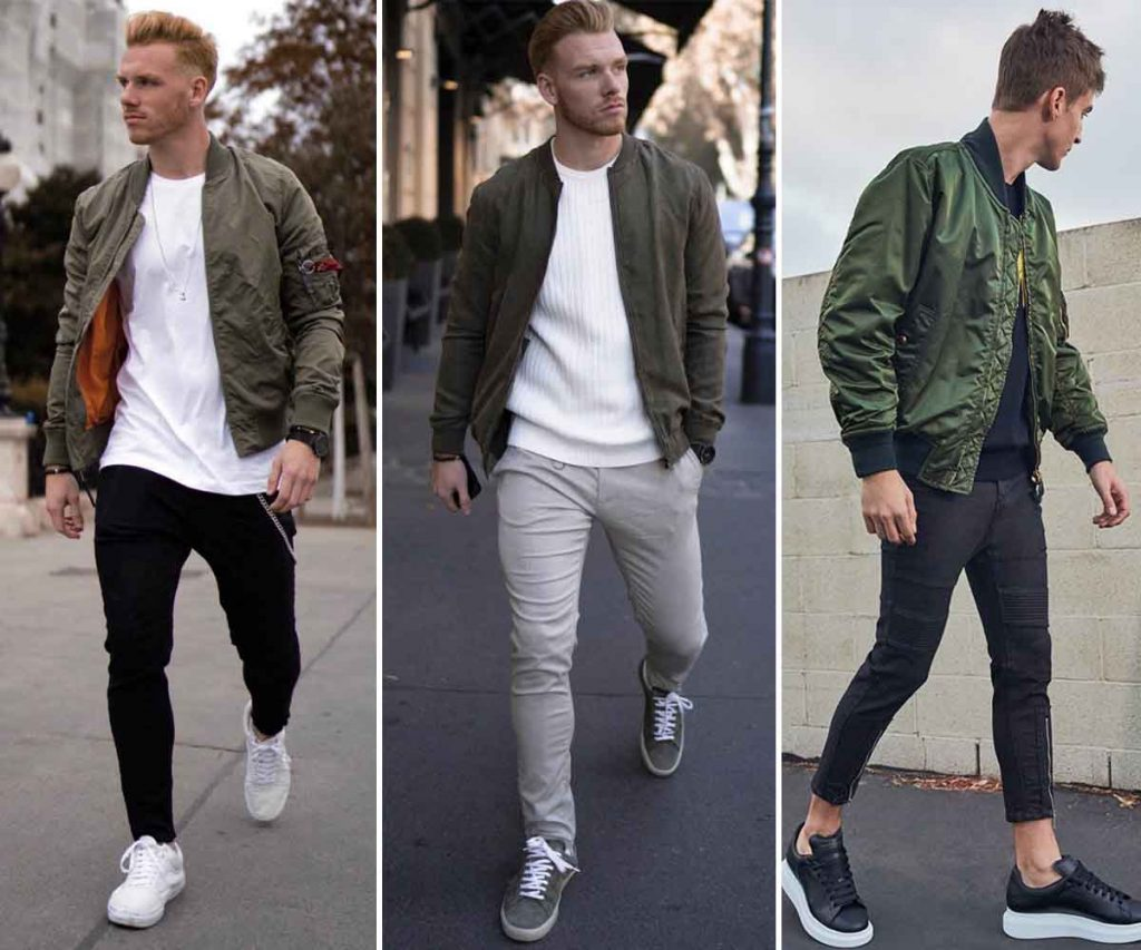 Top 5 Athleisure Fashion Trends For Men - Bomber Jacket And Joggers