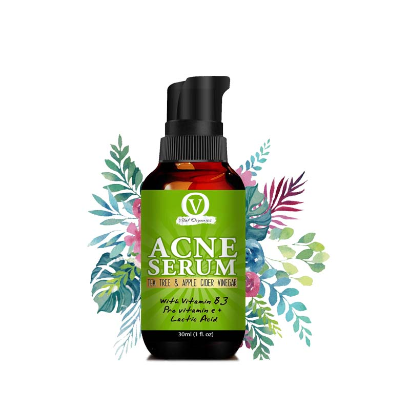 Vital Organics Acne Gel Serum For Acne Treatment & Spots