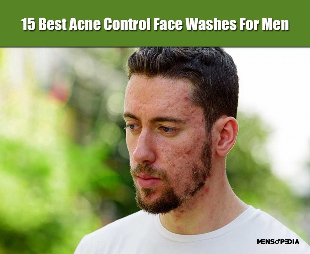15 Best Acne Control Face Washes For Indian Men