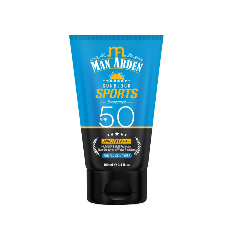 Man Arden Sunblock Sport Sunscreen